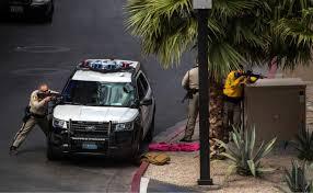 gunman surrenders after fatal shooting on las vegas strip the