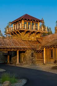 Log Cabin Luxury Homes Rustic Log Cabin Luxury Defined In This Rocky Mountain Getaway