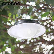gerboo solar light outdoor garden spotlights for tree