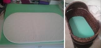 diy oval bassinet mattress and crib sheet u2013 help needed