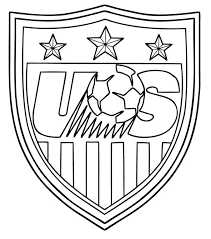 soccer coloring pages usa soccer logo coloringstar