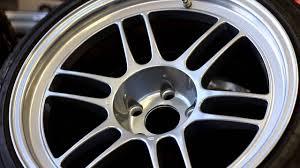 lexus wheels powder coated evo x enkei rpf1 wheels powder coated chrome and clear coat