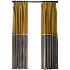 Gray And Yellow Curtains Modern Kitchen Yellow Grey Fabric Curtain Linen Pattern And Gray
