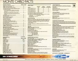 100 chevrolet monte carlo repair manual images used