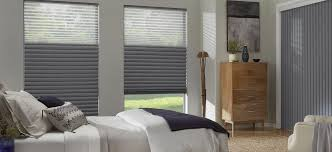Gray Blinds Honeycomb Shades Alta Window Fashions