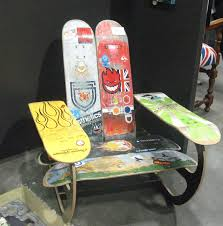 skateboard chairs how cool are these skateboard chairs diyyyy pinterest