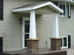 porch columns ideas with faux stone creative columns
