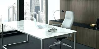 Modern Glass Top Desk Glass Top Office Furniture Contemporary Maple Glass Top Desk With