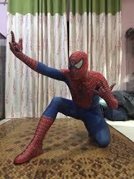 Spiderman Costume Halloween Amazing Spiderman Costumes Halloween 16081209 Cosercosplay