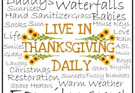 xoxo live in thanksgiving daily