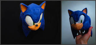 Sonic The Hedgehog Papercraft - sonic the hedgehog sonic s papercraft by meraknar on