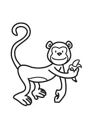 coloriage singe img 17928