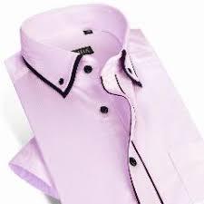 brand new men short sleeve shirt casual slim fit summer style