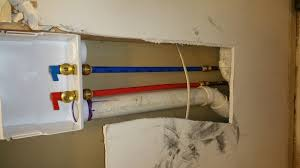 Pex To Faucet Connection Replace Washing Machine Outlet Box Plumbing Diy Home