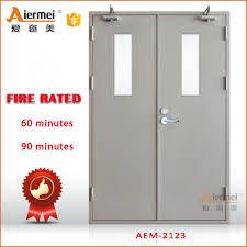fire resistant glass doors emergency doors u0026 roll up industrial door galvanized steel