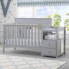 grey baby cribs for less overstock com