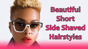 hairstylesforwomen shortcuts beautiful short side shaved hairstyles for women shaved sides