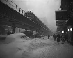 worst blizzard in history weekend storm is second on list of five snowiest blizzards in nyc