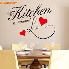 aliexpress com buy diy kitchen love red heart wall sticker aliexpress com buy diy kitchen love red heart wall sticker restaurant removable waterproof vinyl wall decals for kitchen wall art home decor from reliable