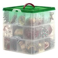 tree ornaments storage containers ornament