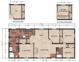 basement home floor plans modular homes floor plans and prices basement home plan 16 designs
