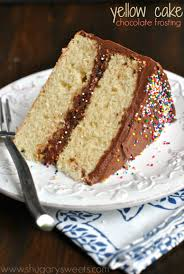 check out yellow cake with double fudge frosting it u0027s so easy to