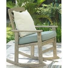 Rocking Chair With Cushions Rocking Chair With Cushion Wayfair