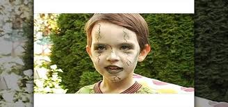 zombie cinderella tutorial how to create a scary green zombie look for a little kid for