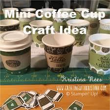 coffee mug ideas mini coffee cup craft fair idea creating with kristina