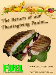 fuel s thanksgiving panini is back