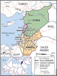 political map of israel israel syria political map from maps