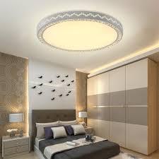 Wohnzimmer Lampe Bogen Yesda Led 48w Lampe Kristall Deckenleuchte Runden Wandlampe
