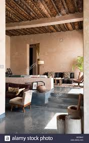 split level seating areas in moroccan new build with interior split level seating areas in moroccan new build with interior design romain michel meniere