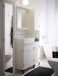 bathroom furniture ideas ikea white bathroom with narrow wash basin cabinet high and mirror