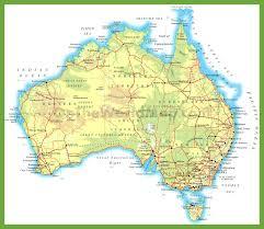 map us landforms map of australia landforms world maps