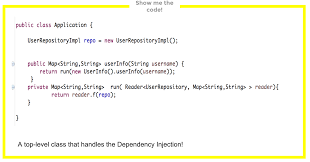 Java Map Example Dependency Injection Using The Reader Monad In Java 8