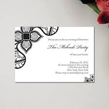 mehndi card henna party mehndi wedding invitations mehndi by soulful