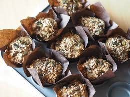 the dreamiest of healthy carrot cake breakfast muffins