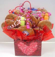 cookie baskets sweet bouquets valentines candy bouquets gift baskets cookie