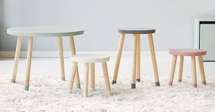 Nursery Side Table Side Tables For Rooms Nurseries Clever Monkey