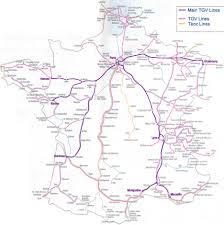 The L Train Map Tgv Map Archives Paris By Train