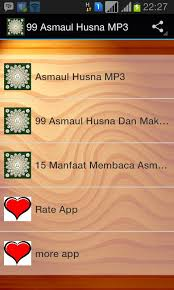 download mp3 asmaul husna lagu anak 99 asmaul husna mp3 apk download free music audio app for