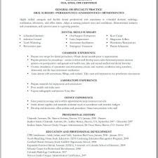 cover letter resume template for dental assistant sample resume
