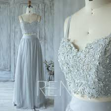 light gray formal dresses 2016 light gray bridesmaid dress with beading sweetheart wedding