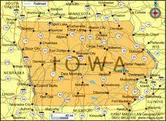 iowa map with cities map of iowa cities iowa road map maps iowa city