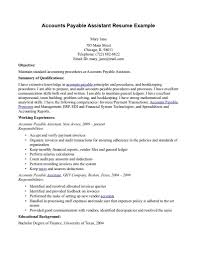 Sample Financial Reporting Manager Resume Resume Accounts Payable Manager Resume
