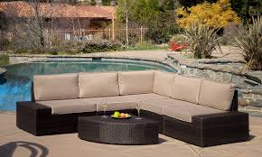 25 off on bodega outdoor wicker sofa sets groupon goods