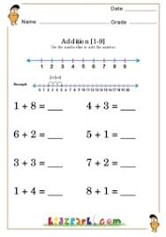 kindergarten number lines kindergarten number line addition worksheet downloadable maths