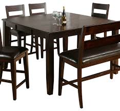 Jofran Dark Rustic Prairie Butterfly Leaf Counter Height Table - Dining room table with butterfly leaf