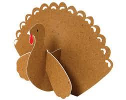 thanksgiving turkey place cards set of 10 meri meri be